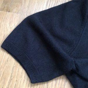 Marks & Spencer Black Short Sleeve Sweater